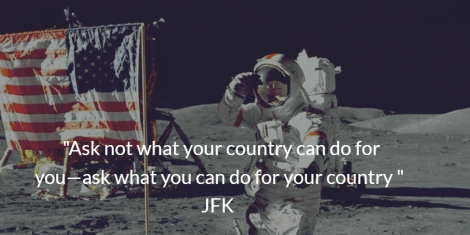 JFK ask not quote